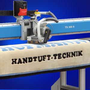 Teppichschermaschine Hofmann Handtuft